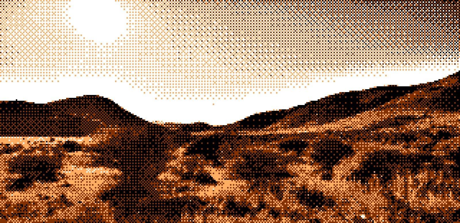 VGA Desert Example