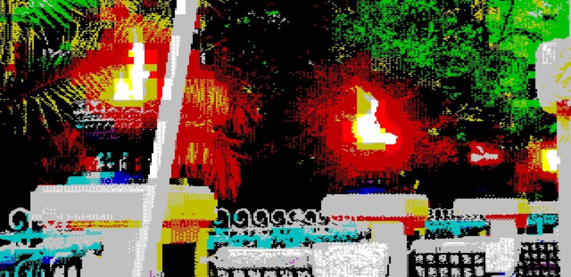 ZX Spectrum Flames Image